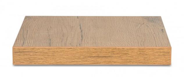 levandeo Eckregal Wildeiche 32x32cm Wandregal Holz Dekor Regal Eckboard Ablage - Vorschau 3