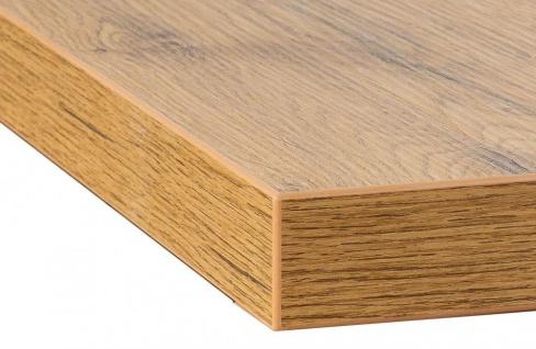 levandeo Eckregal Wildeiche 32x32cm Wandregal Holz Dekor Regal Eckboard Ablage - Vorschau 4