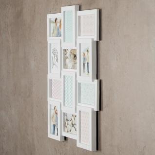 Bilderrahmen H x B: 61x46, 5cm weiß 12 Fotos 10x15 Fotorahmen Deko - Vorschau 4