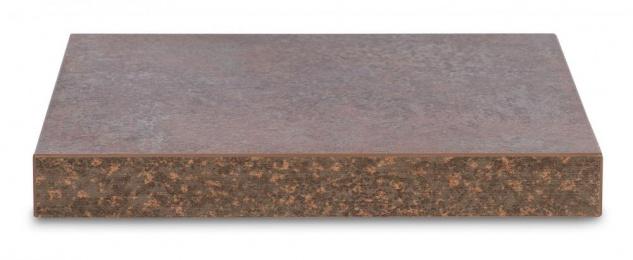 levandeo Eckregal Rost 32x32cm Wandregal Holz Dekor Regal Eckboard Ablage - Vorschau 2