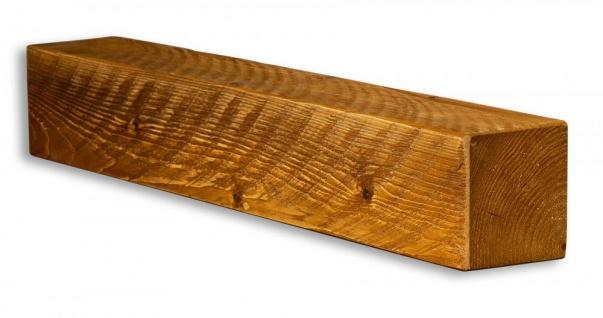 levandeo Wandregal Holz Massiv 60x10cm Teak Farbig Wandboard Regal Vintage Bord - Vorschau 2