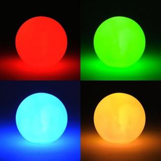 LED Kugel 8cm Lampe Leuchtkugel Farbwechsel Stimmungskugel Dekoleuchte