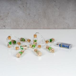 Lichterkette Innen 10 LED Lampe Sukkulenten Gläser Pflanzen Kunstpflanze Deko - Vorschau 2