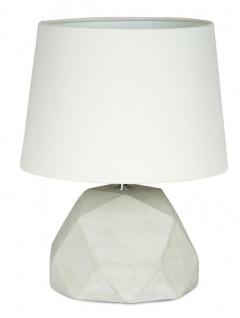 Tischlampe Beton Tischleuchte Leuchte Lampe Grau Design Industrial Industriell - Vorschau 2