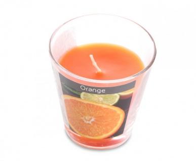 levandeo 3er Set Duftkerzen im Glas 9cm Hoch Orange Kerze Windlicht Deko - Vorschau 2