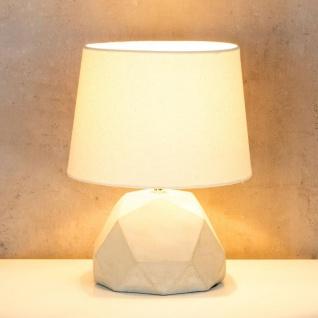 Tischlampe Beton Tischleuchte Leuchte Lampe Grau Design Industrial Industriell - Vorschau 4