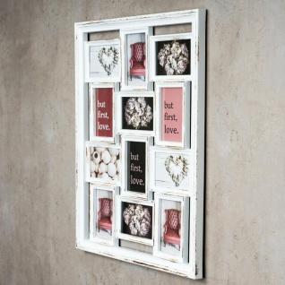 levandeo Bilderrahmen Weiß Collage 52x67cm 12 Fotos 10x15 Shabby Chic Vintage - Vorschau 4