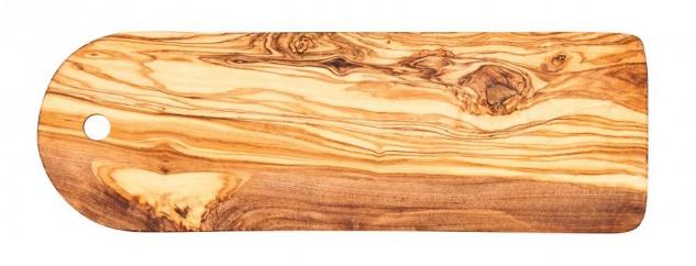 Schneidebrett ca. 30x10cm Olivenholz Küchenbrett Brettchen Küchenhelfer Holz Unikat