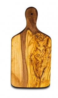 Kleines Schneidebrett Olivenholz Holz ca. 21cm Küchenbrett Brotzeit Schneidbrett