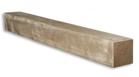 levandeo Wandregal Holz Massiv 100x10cm Shabby Chic Wandboard Regal Vintage Bord - Vorschau 2