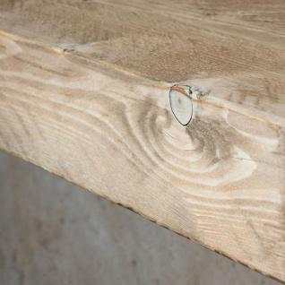 levandeo Wandregal Holz Massiv 100x10cm Shabby Chic Wandboard Regal Vintage Bord - Vorschau 5