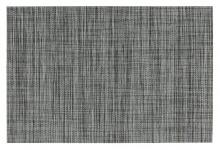 6teiliges Platzset 6er in grau meliert Tischset Platzdeckchen