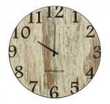 Wand-Uhr Holz 30cm Shabby Chic Deutsche Herstellung klassisch Marke