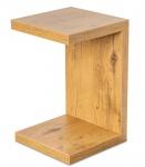 levandeo Couchtisch Coco Holz 32x32x50cm Wildeiche Tisch Beistelltisch Deko