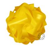 IQ Puzzle Lampe gelb XL 42cm Retro Designer Hängelampe Deckenleuchte
