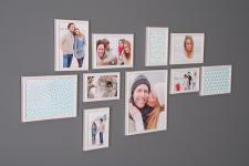 Bilderrahmen Fotobox 10 Stück Fotorahmen Collage Einzelrahmen Deko