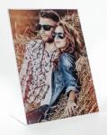 Fotorahmen aus Acrylglas Bilderrahmen 10x15cm Potrait Bild Hochformat