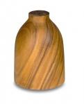 Lampenschirm Akazie 14x20cm Holz Blatt Gold für Deckenleuchte Hängeleuchte