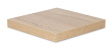 levandeo Eckregal Sonoma Eiche 32x32cm Wandregal Holz Dekor Regal Eckboard
