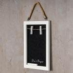 Kreidetafel 21 x 28 cm inkl. Kreide Tafel Holz Vintage Shabby Chic Memo