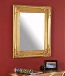 Spiegel Wandspiegel Flurspiegel gold shabby chic 45x55x5cm vintage