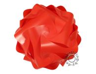 IQ Puzzle Lampe rot XL 42cm Retro Designer Hängelampe Deckenleuchte