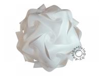 Puzzle Lampe weiß XL 42cm Lampada Romantica Designer Retro Hängelampe