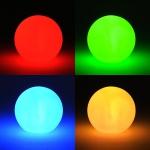 LED Kugel Lampe Leuchtkugel Farbwechsel Stimmungskugel inkl. Batterien
