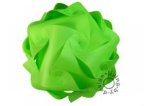 IQ Puzzle Lampe grün XL 42cm Retro Designer Hängelampe Deckenleuchte