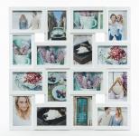 Bilderrahmen weiß 16 Fotos Collage Fotogalerie Fotocollage Galerie