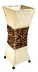 Stehleuchte / Stehlampe - Größe: 15x15cm Höhe: 45cm - Standlampe Lampe