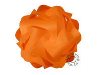 IQ Puzzle Lampe orange M 24cm Retro Designer Hängelampe Deckenleuchte