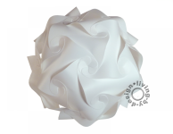 Puzzle Lampe weiß XXL 60 Lampada Romantica Designer Retro Hängelampe