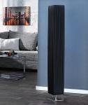 Stehleuchte / Stehlampe in schwarz 15x15cm Höhe:120cm Standlampe Lampe