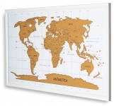 Weltkarte Gerahmt Rubbelkarte 80x40cm Karte Zum Freirubbeln Englisch Scratch Map