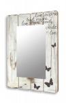 Spiegel Wandspiegel Flurspiegel aus Holz vintage shabby chic 60x80cm