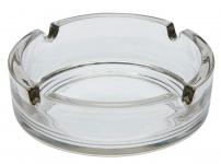 Aschenbecher 11x3, 5cm Glas klar Gastronomie Zigarette Zigarre Raucher