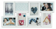 Bilderrahmen weiß 8 Fotos Collage Fotogalerie Fotocollage Galerie