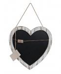 Große Herz-Tafel Tafel Wandtafel Herz zum Hängen Holz Vintage Shabby