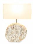 Lampe 35x54x16cm Holz Treibholz Unikat Tischleuchte Dekoration Leuchte