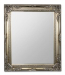 Spiegel Wandspiegel Flurspiegel Silber Holz Vintage Barock shabby