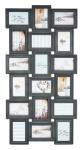 Bilderrahmen Barock Grau 18 Fotos 10x15cm Antik Collage Galerie Fotorahmen Deko