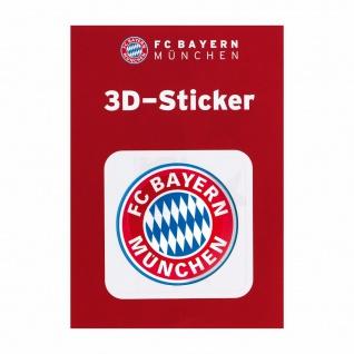 FC Bayern München 3D Aufkleber Logo (Autoaufkleber / Sticker ) rot