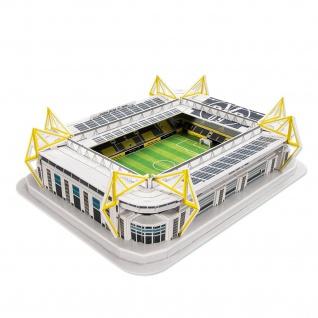 "BVB Borussia Dortmund Stadionpuzzle / Puzzle 3 D "" Signal Iduna Park"" 74 Teile"