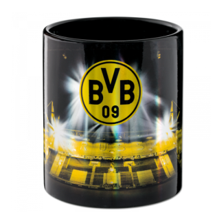 BVB Borussia Dortmund Tasse mit Stadionprint