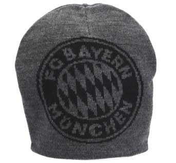 FC Bayern München Mütze / Wendemütze *** Big Logo *** anthrazit 23300