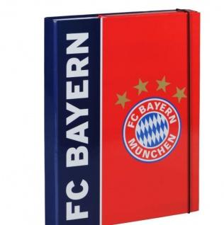 FC Bayern München Heftbox / Heftmappe / Heft Ordner