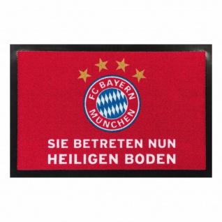 FC Bayern München Fußmatte / Türvorleger *** Heiliger Boden ***