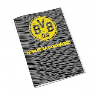 BVB- Borussia Dortmund Hausaufgabenheft Din A 5