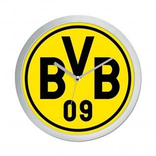 "BVB Borussia Dortmund "" Wanduhr "" Neu"